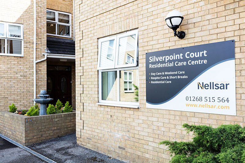 Silverpoint Care Home Entrance