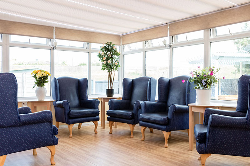 Silverpoint Court Lounge Area