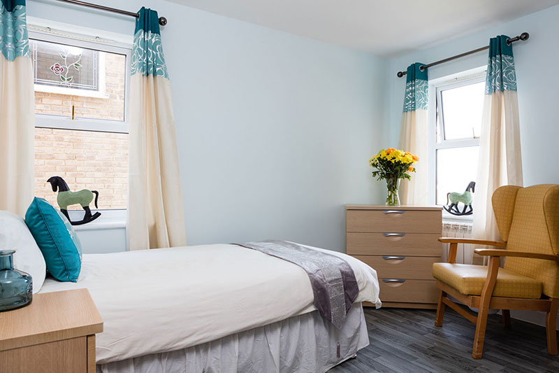 Silverpoint Resident Bedroom