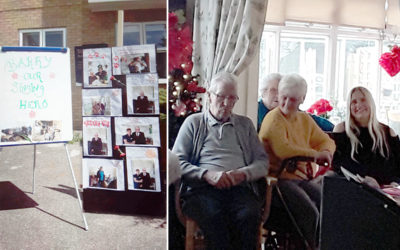A fond farewell to Barry at Silverpoint Court Residential Care Home