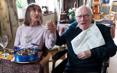 Many happy returns to Alan at Silverpoint Court Residential Care Home