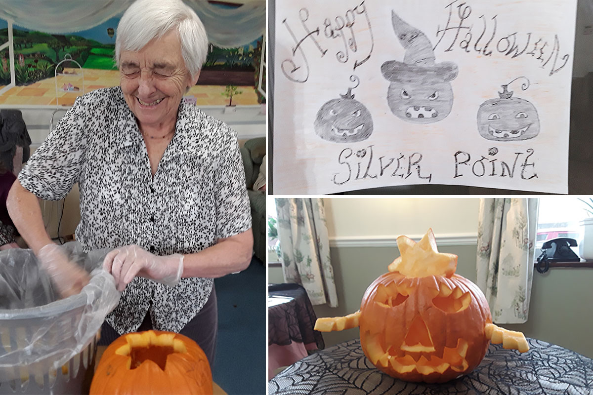 Spooky games and prizes at Silverpoint Court Residential Care Home