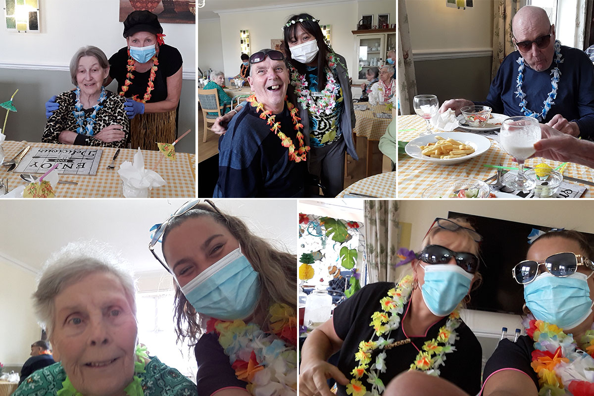 Aloha from Silverpoint Residential Care Home