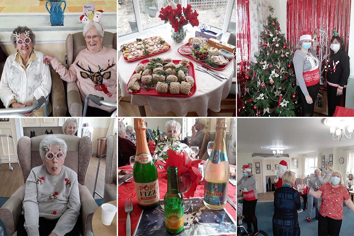Christmas Party at Silverpoint Court Residential Care Home