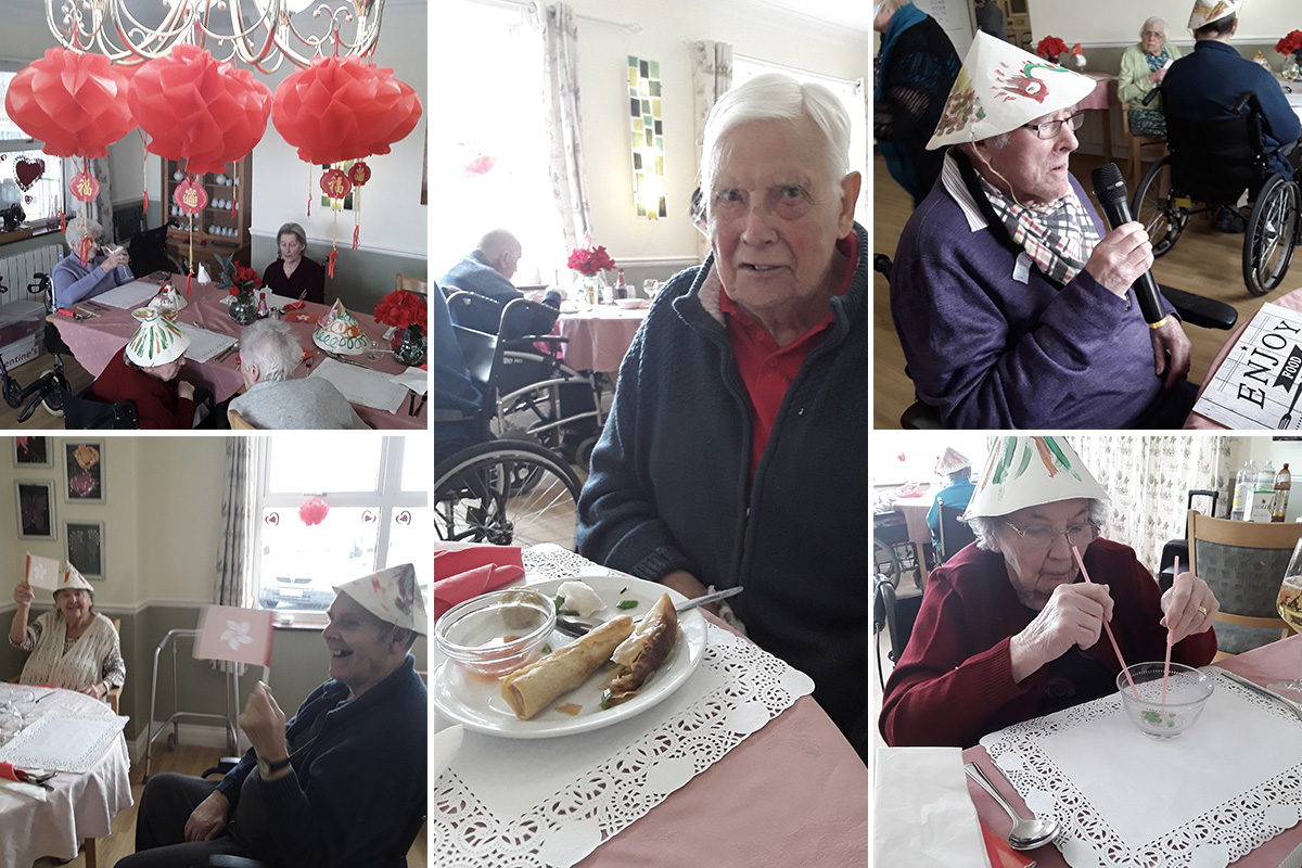 Celebrating Chinese New Year at Silverpoint Court Residential Care Home