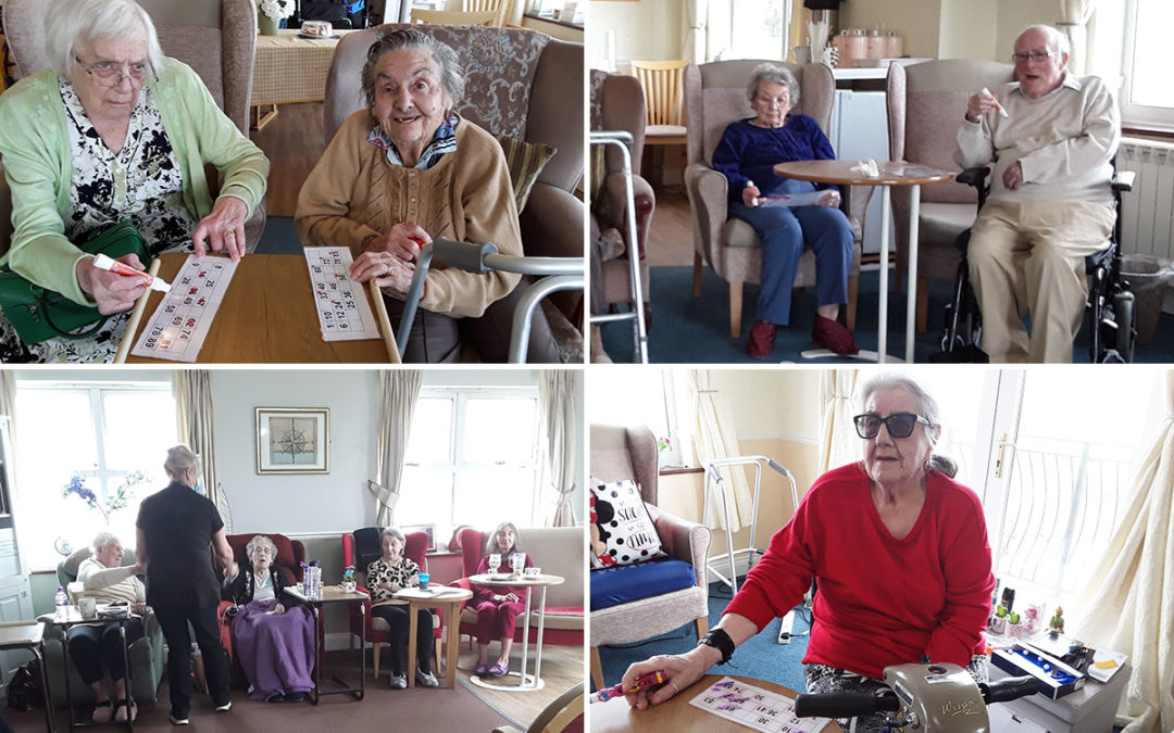 Coffee morning and bingo at Silverpoint Court Residential Care Home