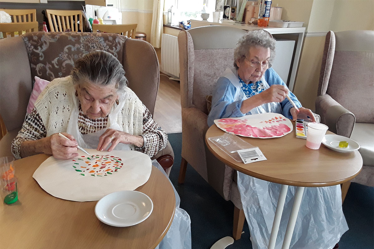 Hong Kong cruise preparations at Silverpoint Court Residential Care Home