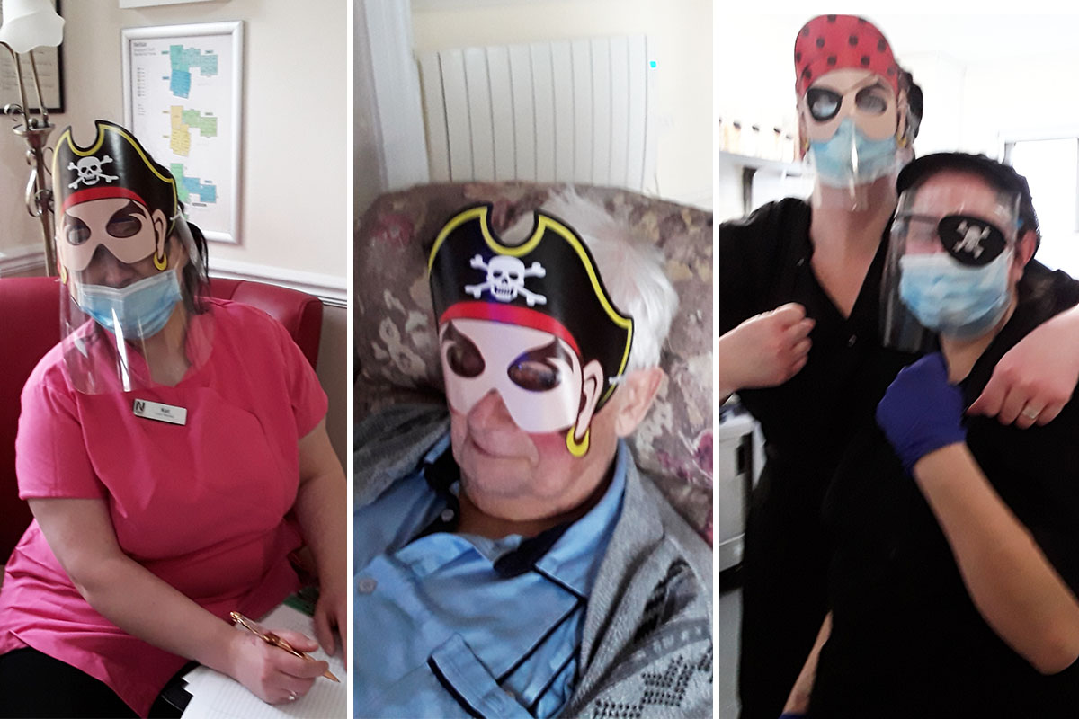 Pirates and popcorn at Silverpoint Court Residential Care Home