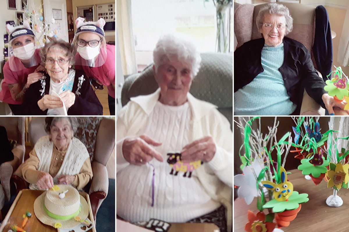 Celebrating Easter at Silverpoint Court Residential Care Home