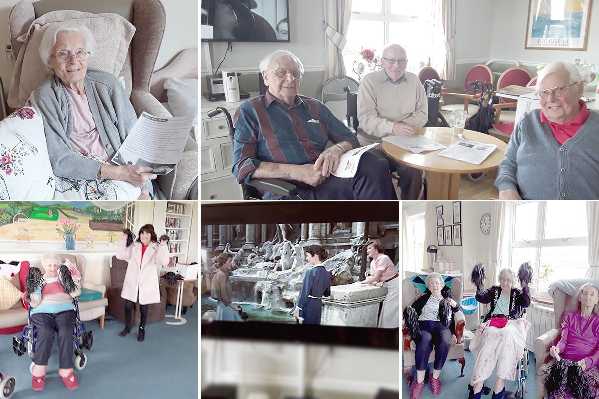 Quiz and Zumba fun at Silverpoint Court Residential Care Home