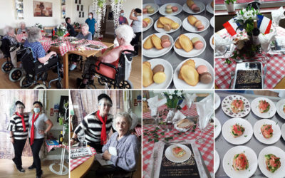 French Day at Silverpoint Court Residential Care Home
