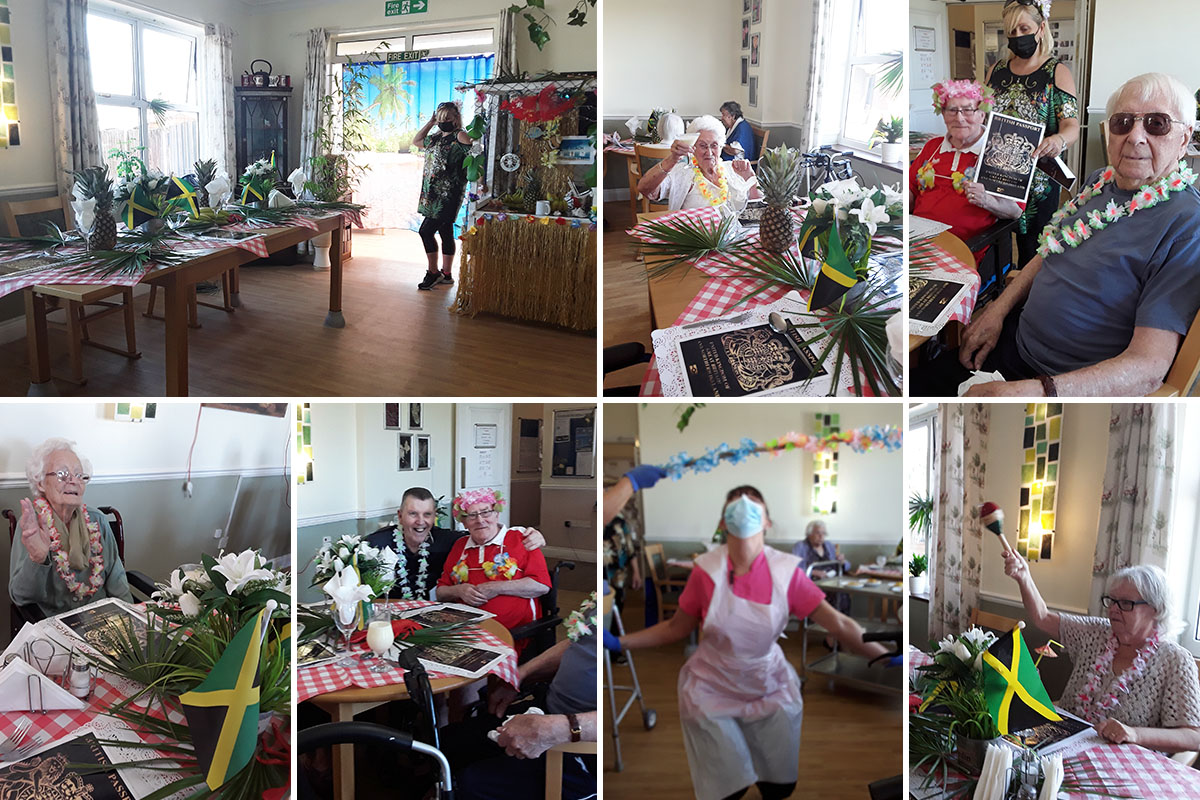Caribbean capers at Silverpoint Court Residential Care Home