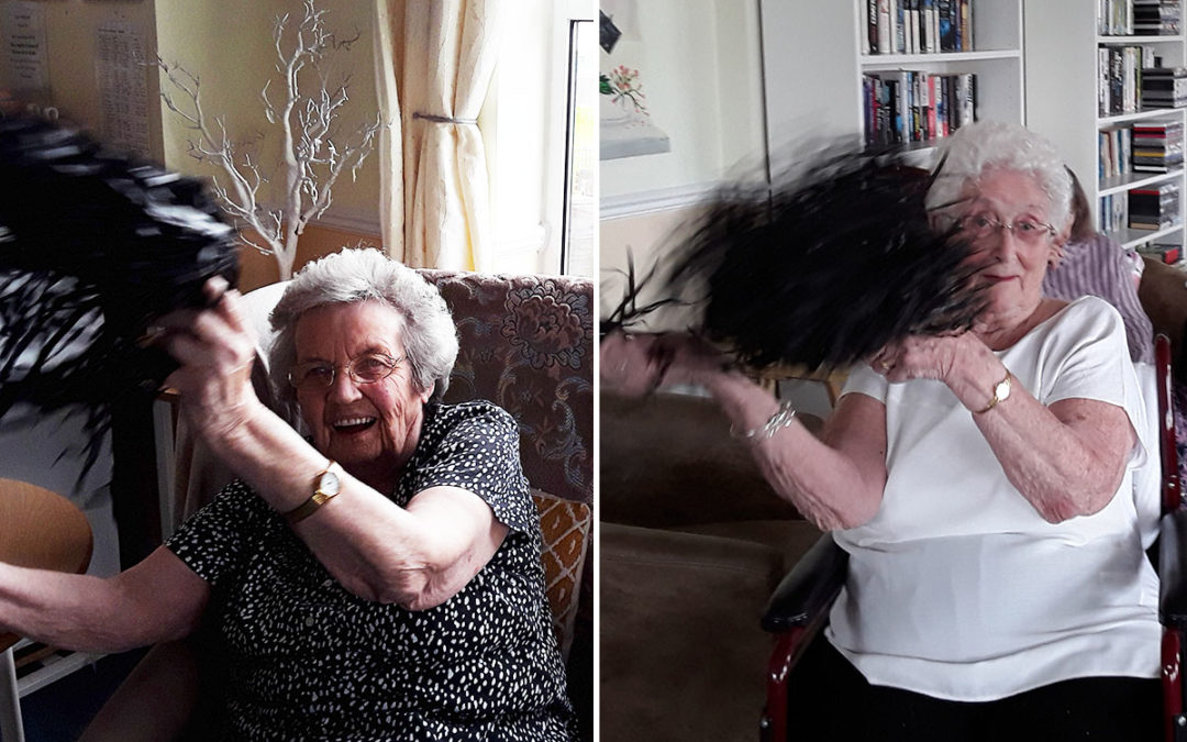 Silverpoint Court Residential Care Home residents love to get moving