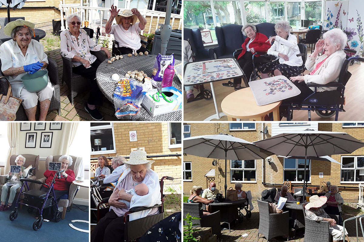 From bird feeders to a quiz in the garden at Silverpoint Court Residential Care Home