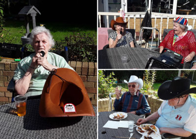 BBQ party and live music at Silverpoint Court Residential Care Home 1