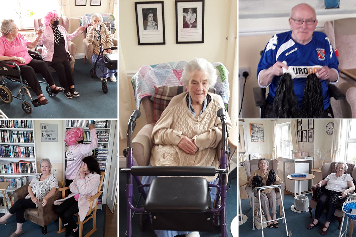 Bank holiday buzz at Silverpoint Court Residential Care Home
