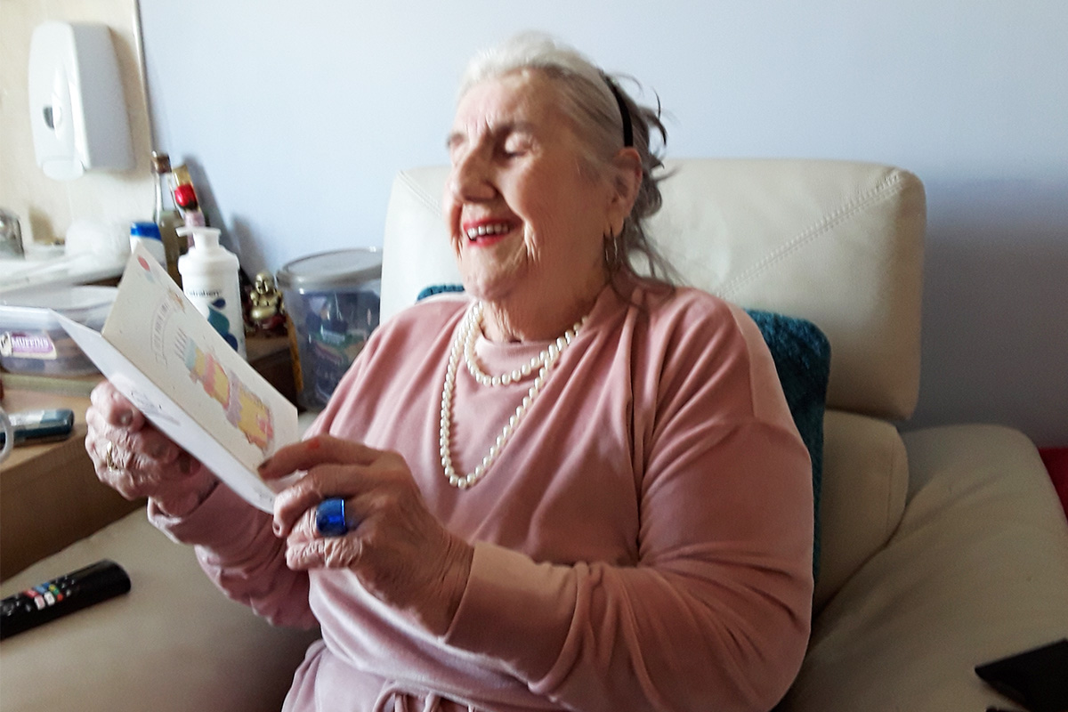 Double birthday celebrations at Silverpoint Court Residential Care Home
